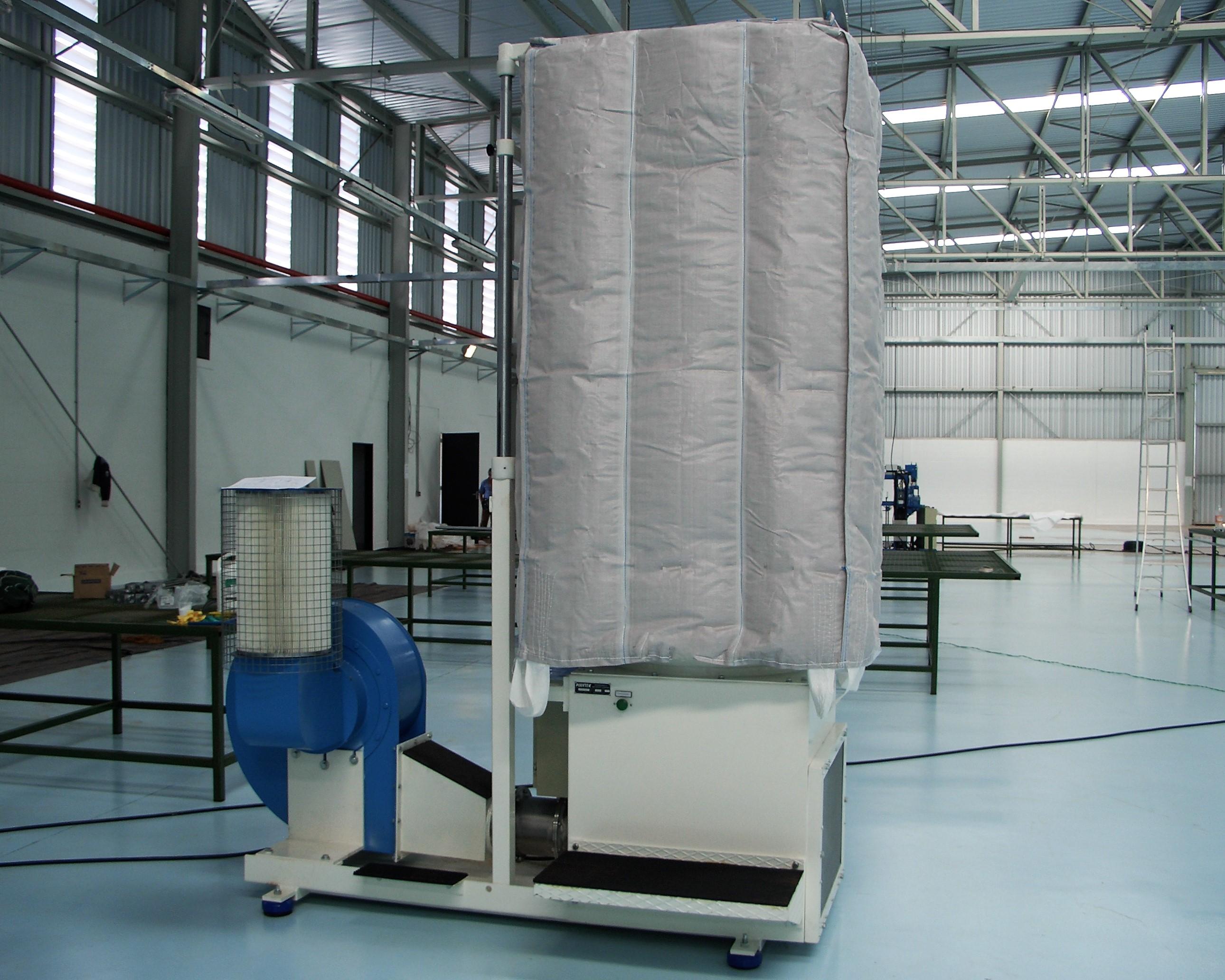 FIBC CLEANING MACHINE